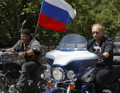 Neuer Stern in der Rockerhölle: Wladimir Putin fährt jetzt Harley Davidson