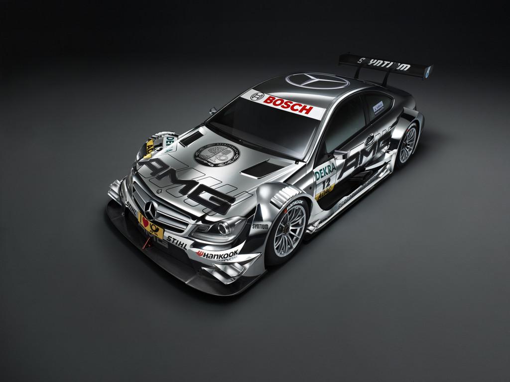Neues DTM-Fahrzeug von Mercedes-Benz ist startklar