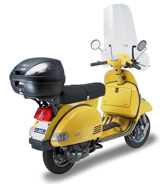Neues Topcase von Givi speziell für Roller