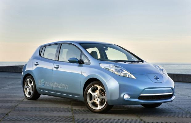Nissan Leaf als Stromlieferant