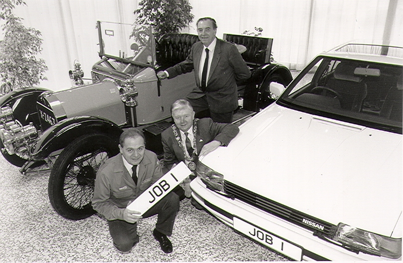 Nissan feiert den 25. Geburtstag des britischen Produktionsstandorts Sunderland.