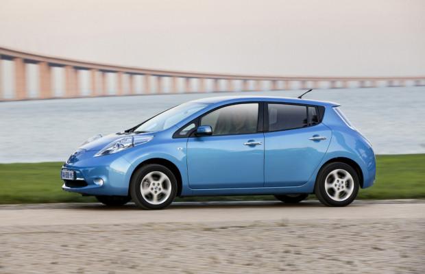 Nissan forciert Schnell-Ladegeräte