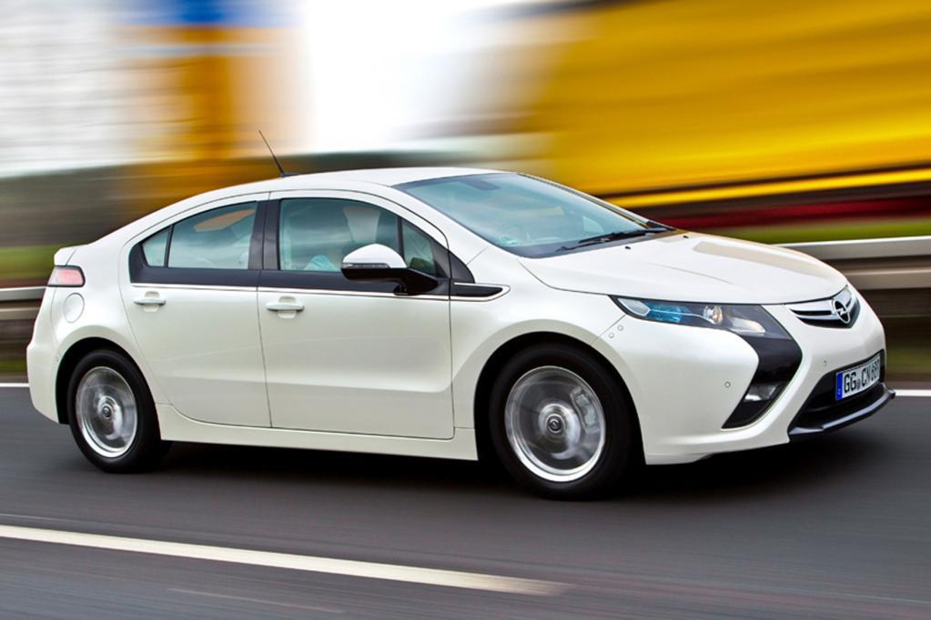 Opel Ampera ist das grünste Auto des Jahres