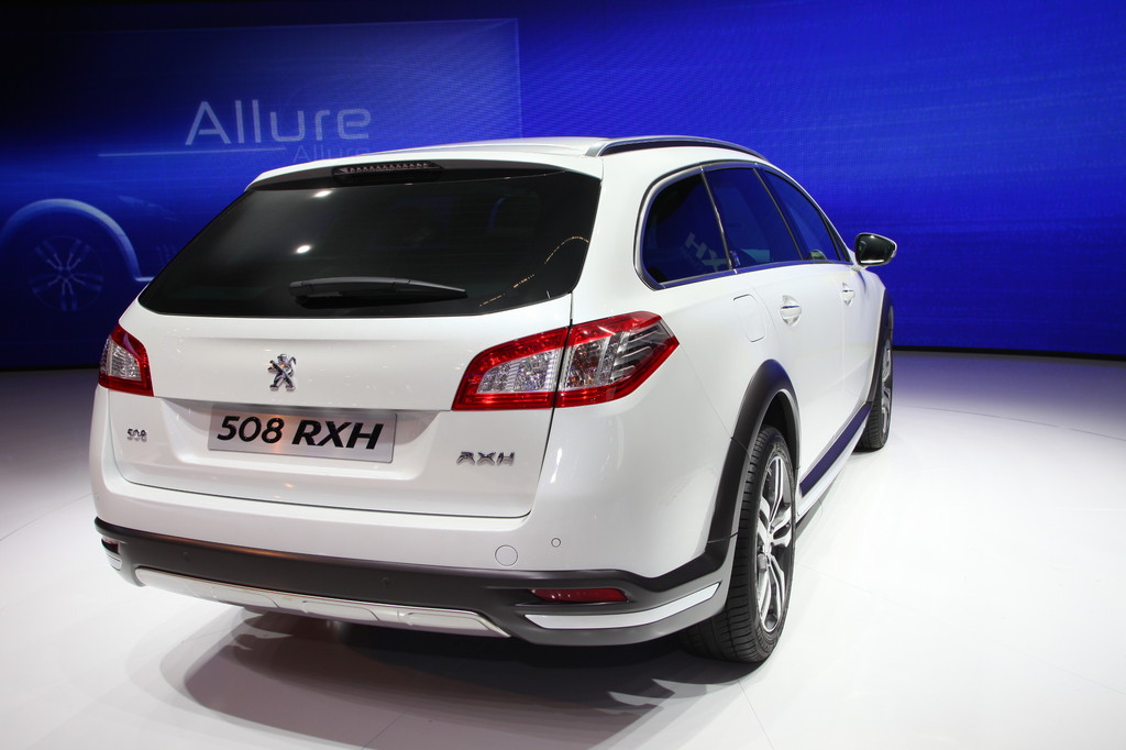 Peugeot 508 RXH.