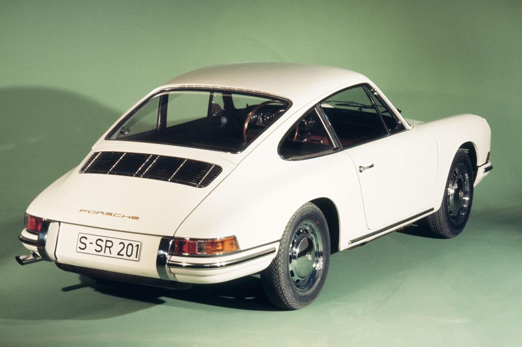 Platz 5: Porsche 911