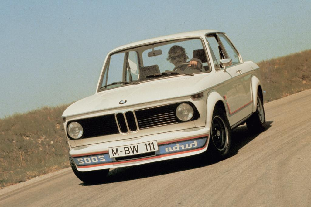 Platz 7: BMW 2002 turbo