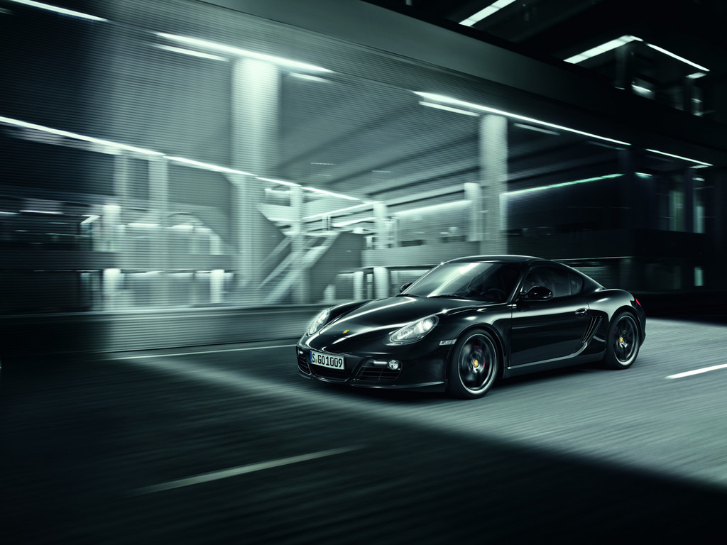 Porsche Cayman S Black Editon.