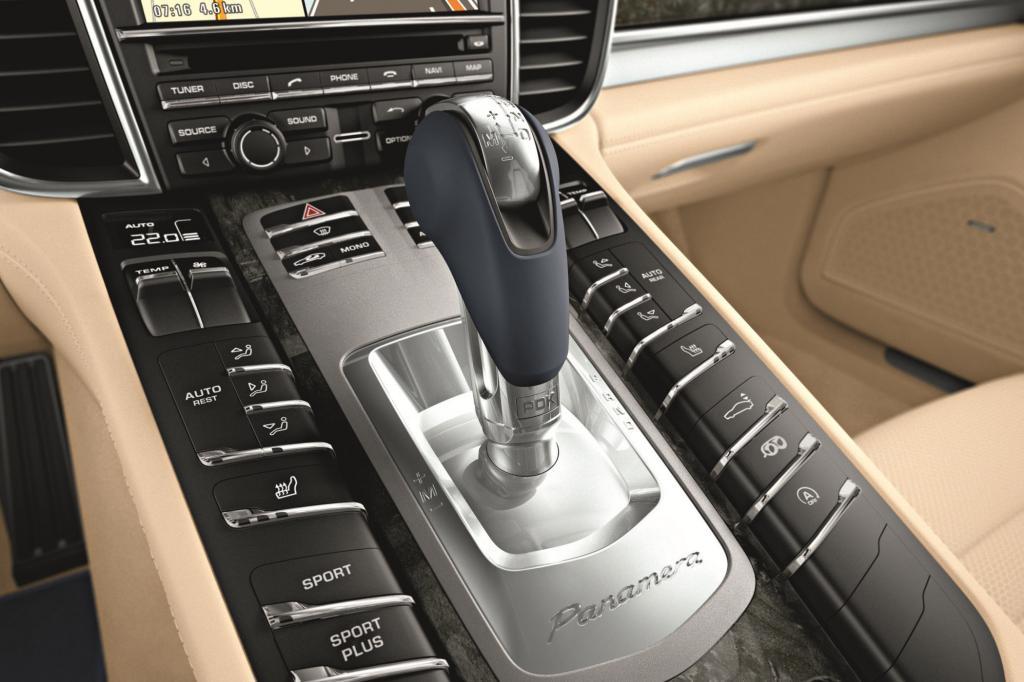 Porsche setzt die Doppelkupplung auch im Panamera und im neuen 911 ein