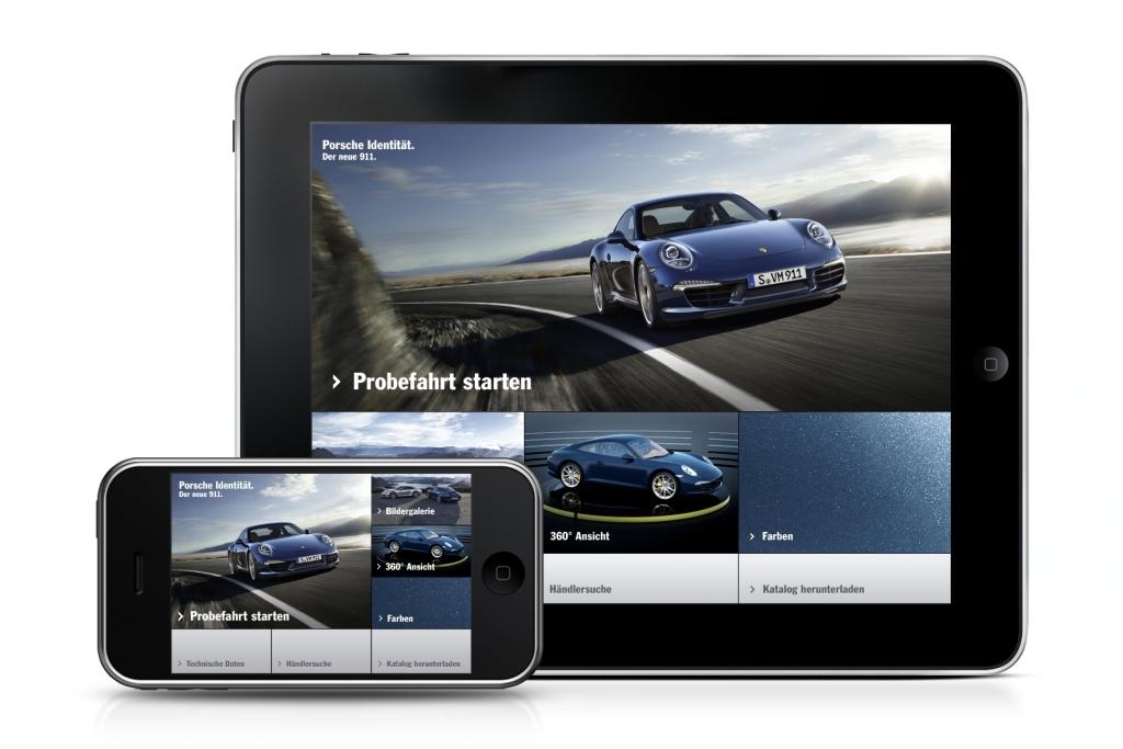 Porsche startet Kampagne zur Weltpremiere des neuen 911