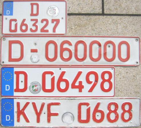 Recht: Kein Versicherungsschutz - Rotes Kennzeichen am und nicht im Fahrzeug