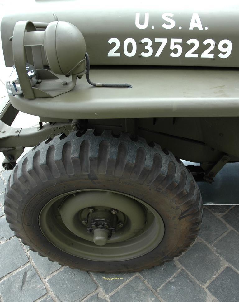 Robust, leicht, wendig - und deutlich als Militärfahrzeug der US-Armee zu erkennen.