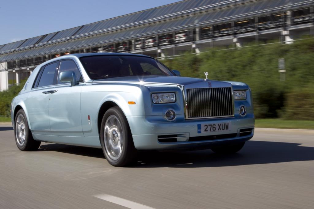 Rolls-Royce 102 EX - Stille in Bewegung