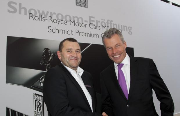 Rolls-Royce eröffnet dritten Showroom in Deutschland