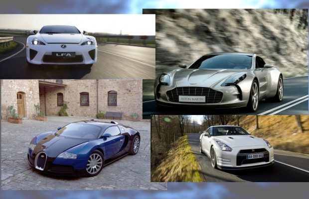Sekundenhatz: Die schnellsten Supersportwagen