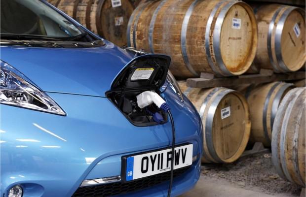 Spritfreier Schluckspecht: Wie Insel-Whisky einen Nissan Leaf antreibt