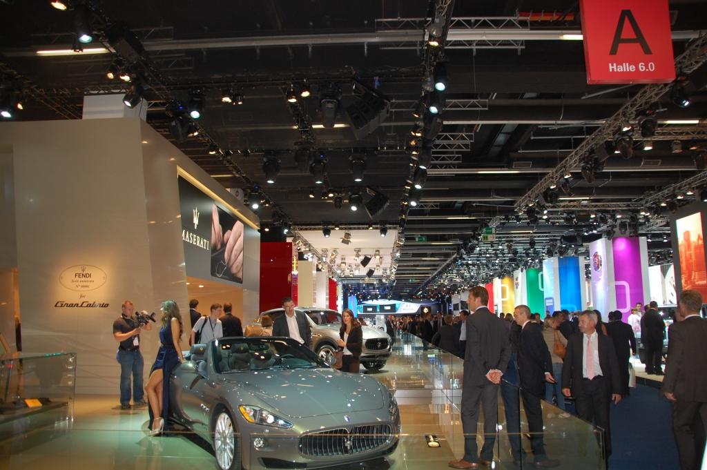 Stand der Dinge auf der IAA 2011: Halle 6 – Fiat, Ferrari, Lancia und Co.