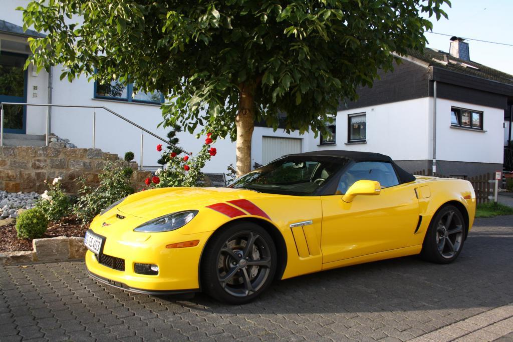 Test: Chevrolet Corvette Grand Sport - Schön auffallend