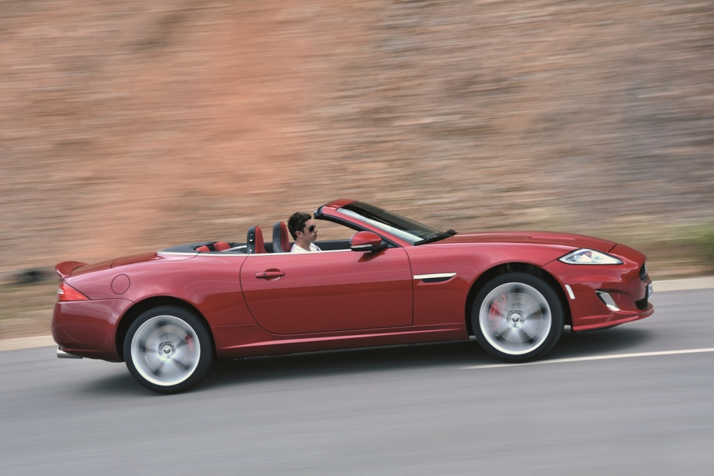 Test: Jaguar XKR Cabriolet - Der den Gentlemen in dir weckt