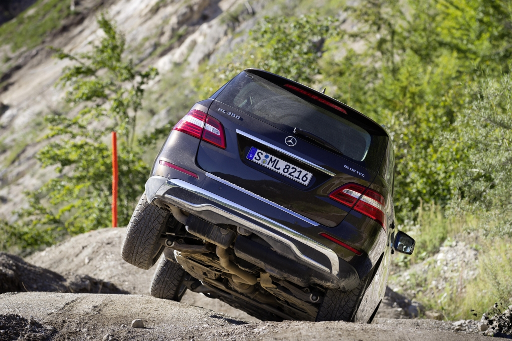Test Mercedes-Benz M-Klasse: Offroad im Premium SUV – Das kann ja jeder ...