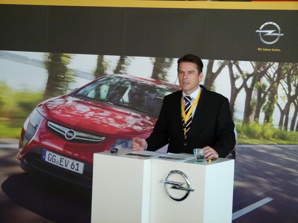 Test Opel Ampera - Thomas Beger, Leiter Elektromobilität Opel