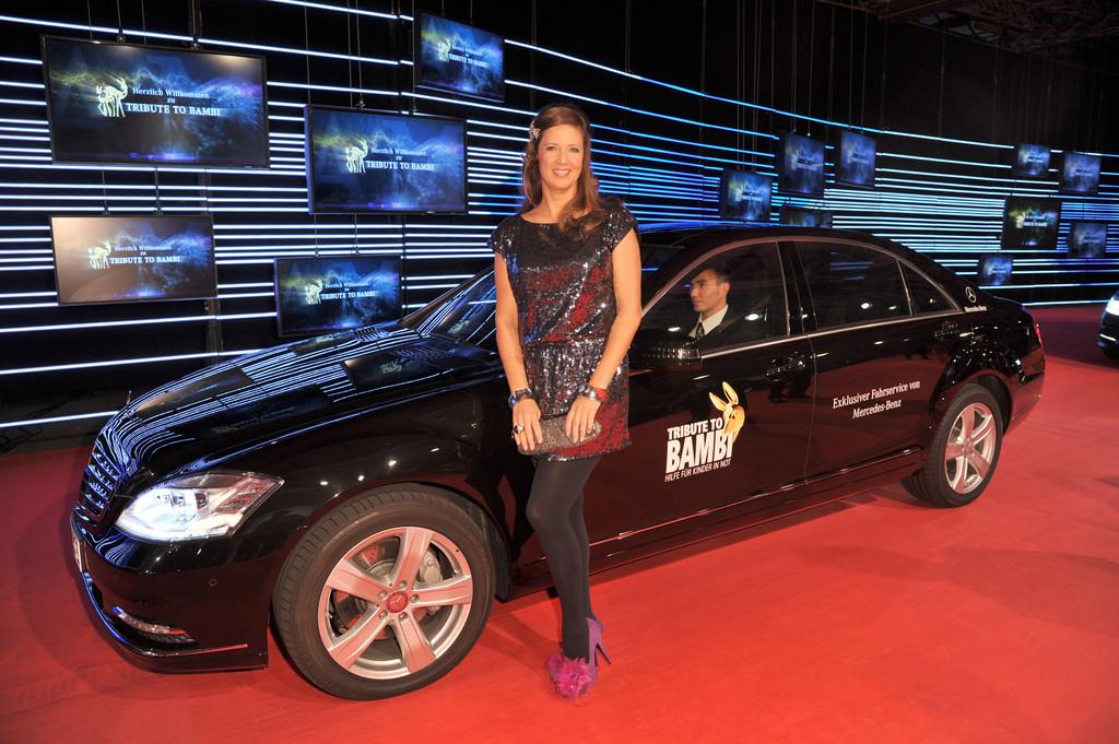 Tribute to Bambi: Promis fahren Bobby Car für den guten Zweck