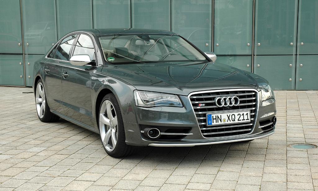 Unter anderem im neuen S8 setzt Audi die Zylinderabschaltung ein.