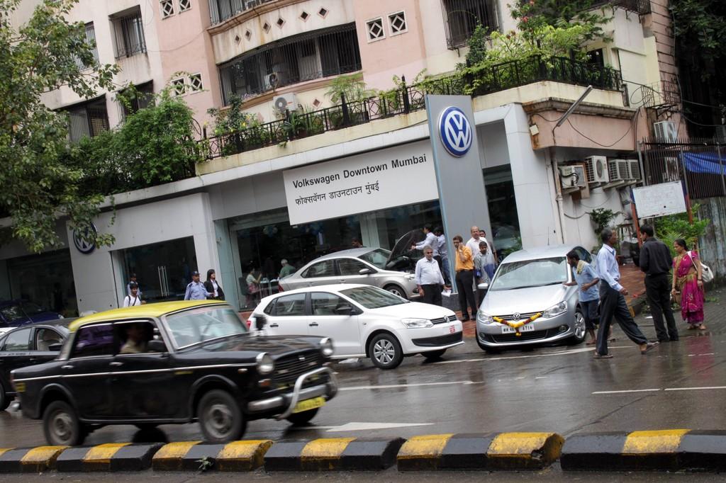 VW-Händler in Mumba.