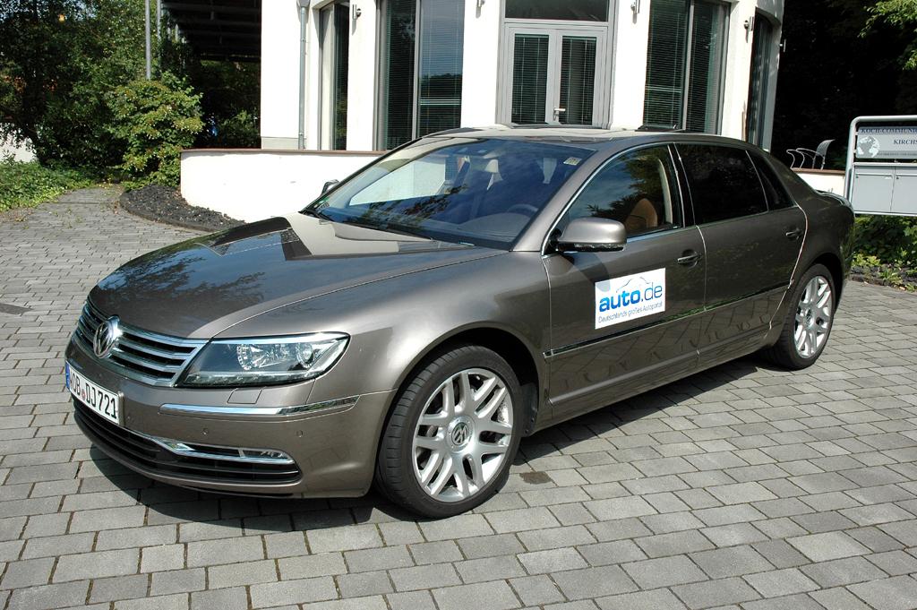 VW Phaeton, hier als 240-PS-Turbodiesel-Langversion.
