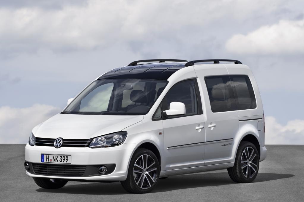 VW-Sondermodell: Ein Caddy für den Business-Daddy