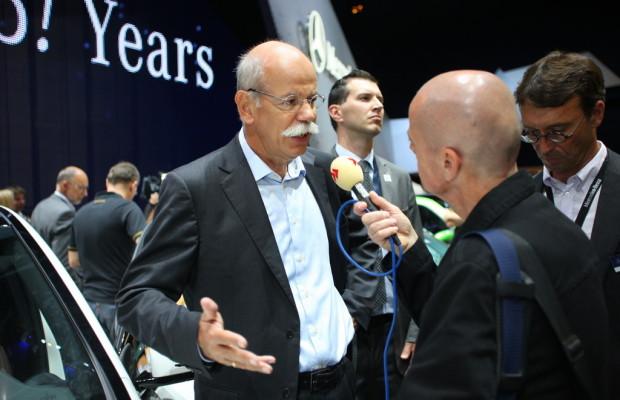 Verfahren gegen Daimler-Chef Zetsche eine Formalie