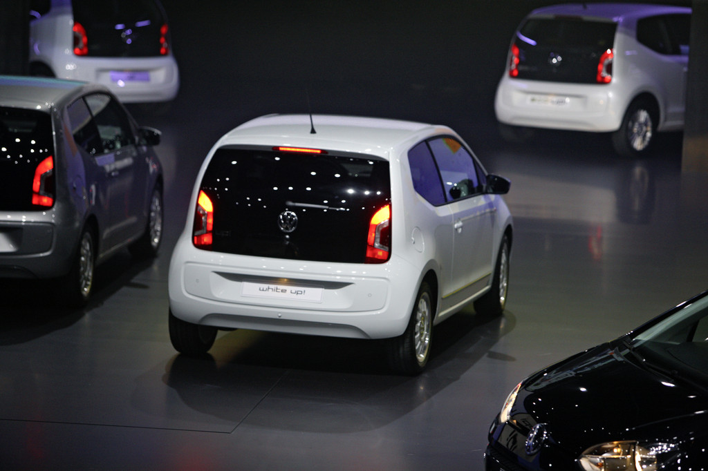 Volkswagen Up bei der VW-Vorabendversanstaltung