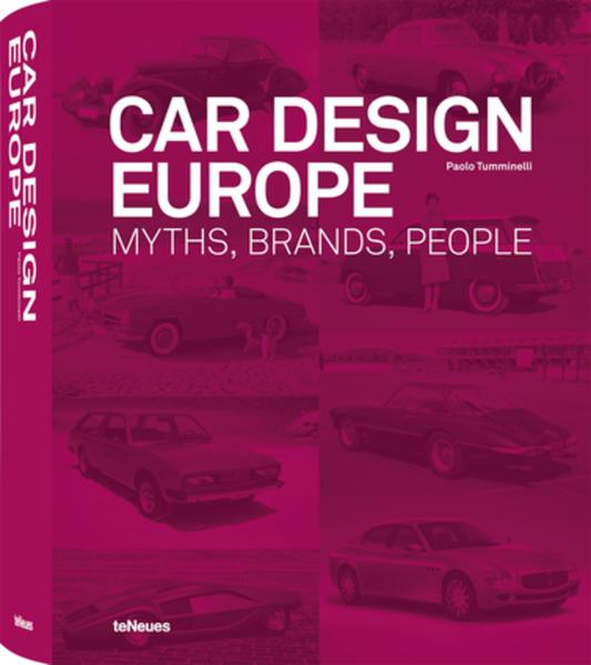 auto.de-Buchtipp: Car Design Europe - Myths, Brands, People