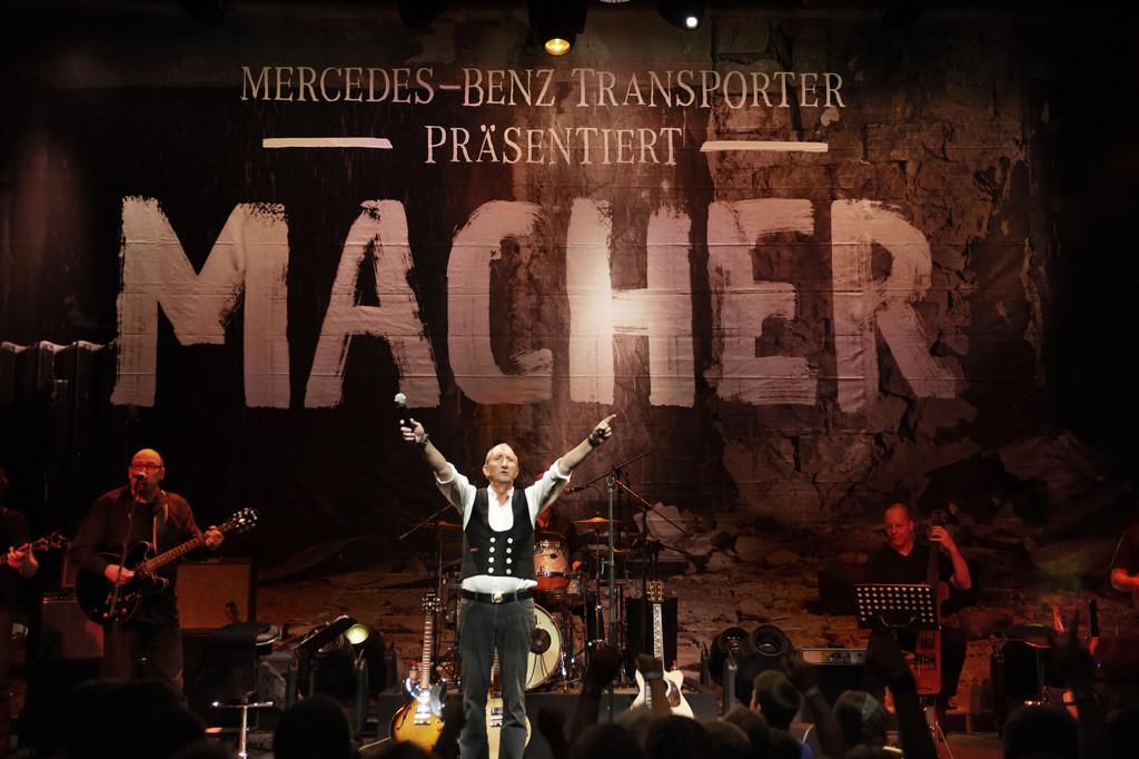 """""""Macher""""-Konzert mit Mike Krüger."""