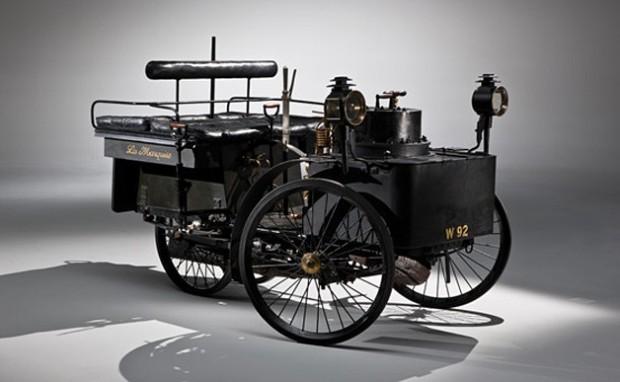 Ältestes fahrendes Auto der Welt unter`m Hammer