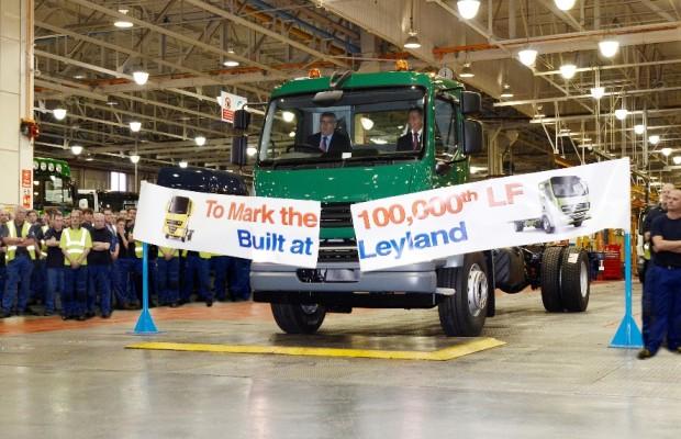 100 000 DAF LF bei Leyland Trucks produziert