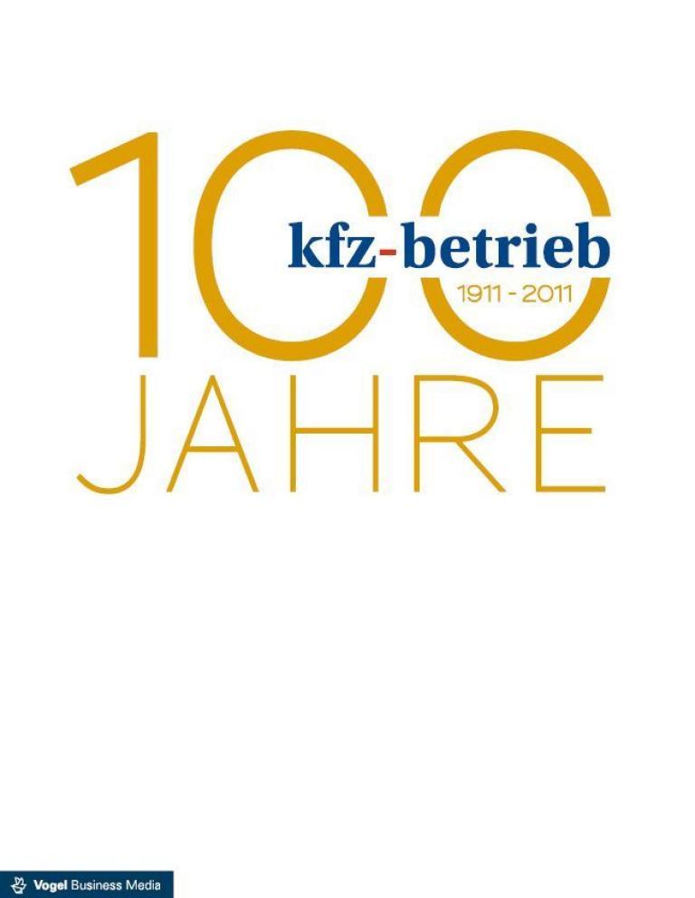 100 Jahre Zeitschrift