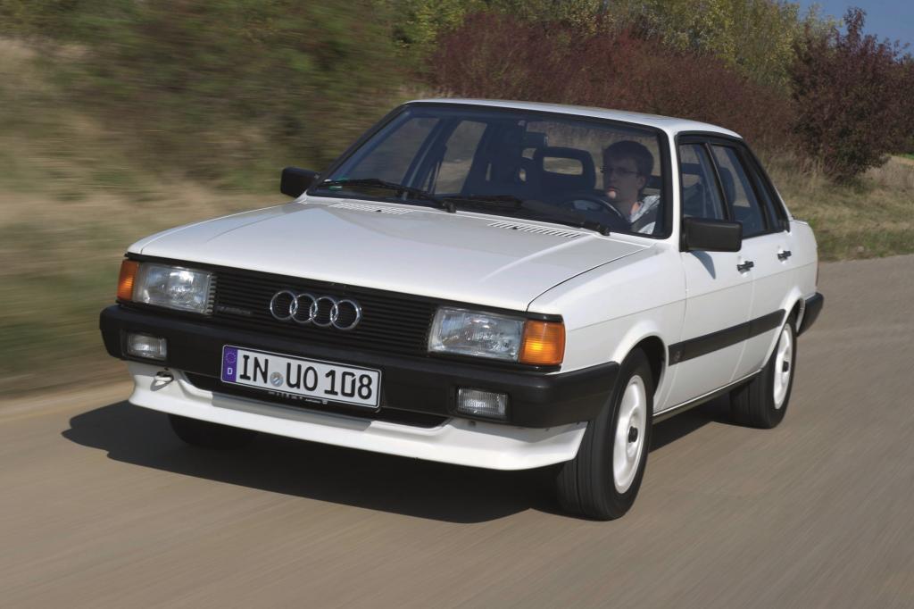 1978 kam der Audi 80 B2