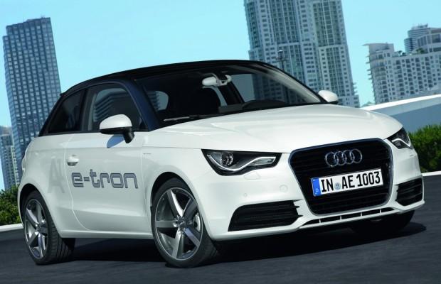 20 Audi A1 E-tron werden in München getestet