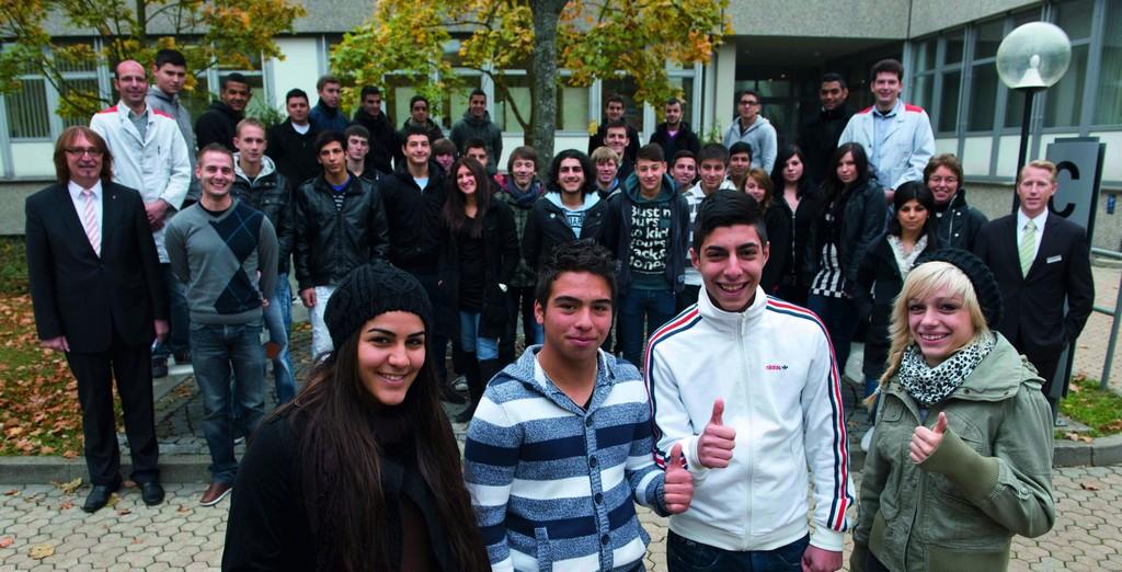 40 Jugendliche erhalten bei Audi eine Chance
