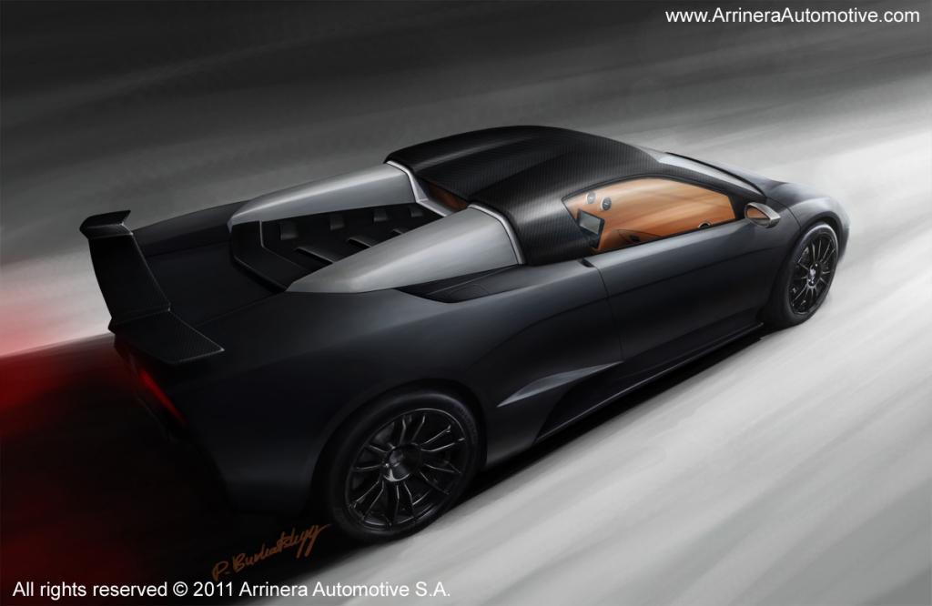 Arrinera Hussarya - Polen-Lambo kommt 2013 - Bild: Arrinera Automotive S.A.