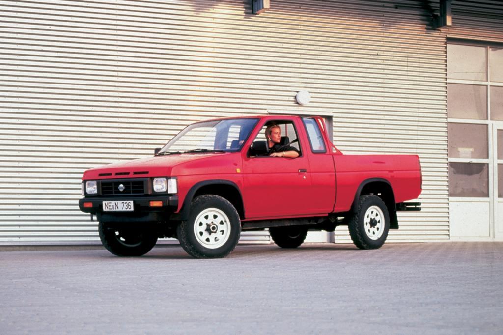 Auch 1986 gab es einen Nissan Pick-up