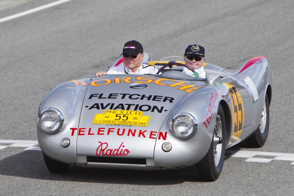 Auch der Porsche 550 RS Spyder war bei der Porsche Reunion zu sehen. Er gehört zu den absoluten Raritäten.