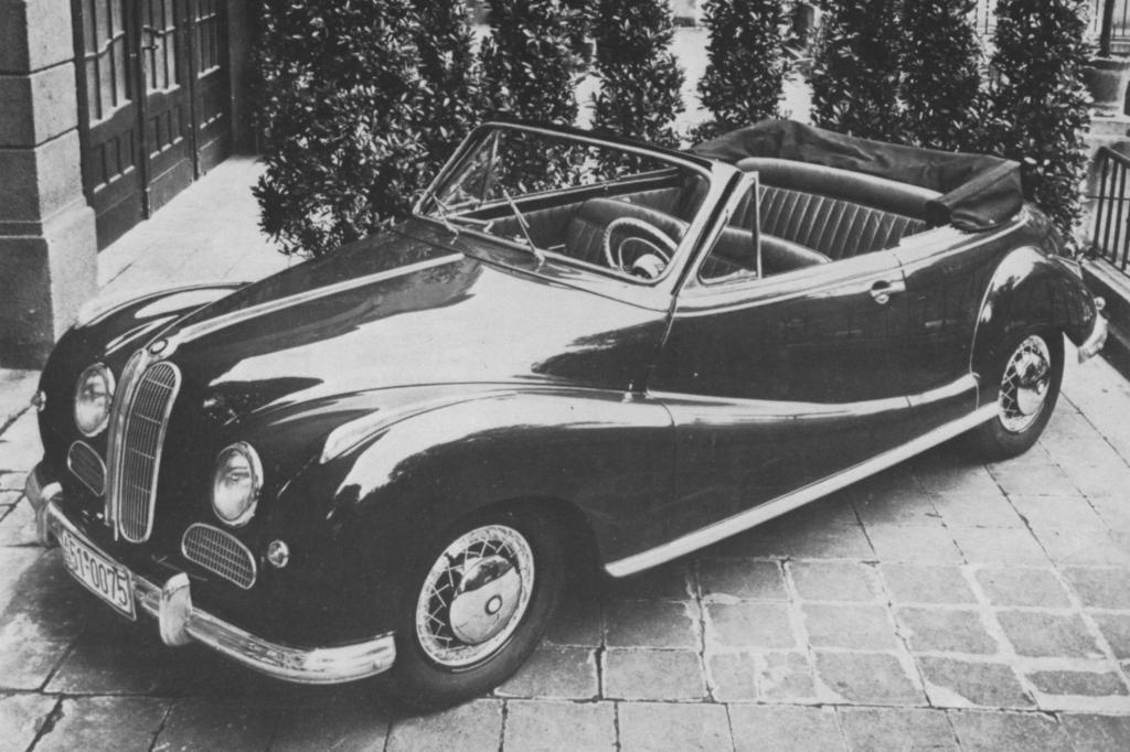 Auch ein Cabrio war im Programm