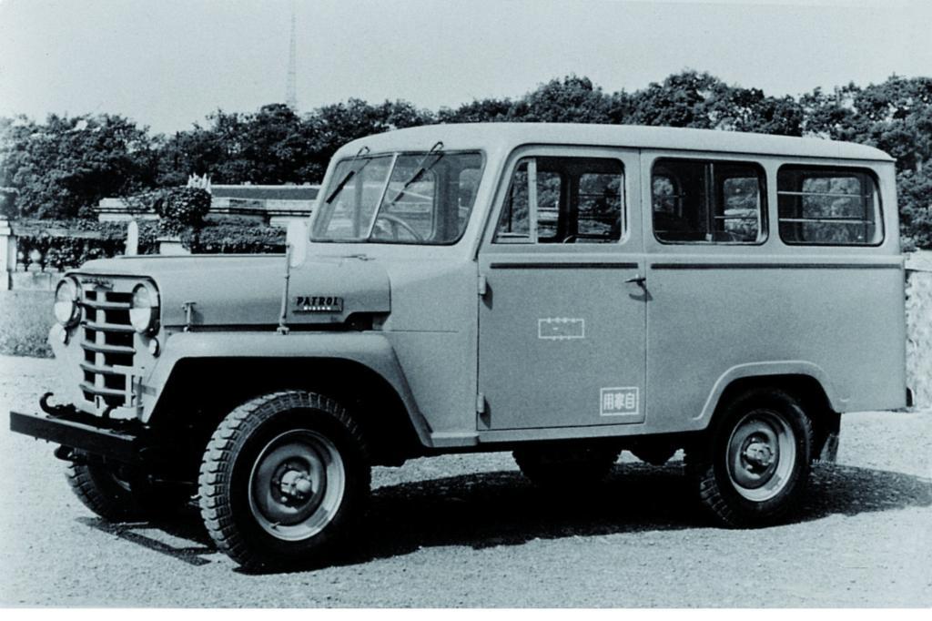 Auch eine Großraumversion des Patrol wurde entwickelt