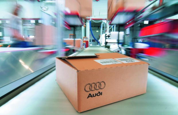 Audi eröffnet CKD-Verpackungszentrum in Wunstorf