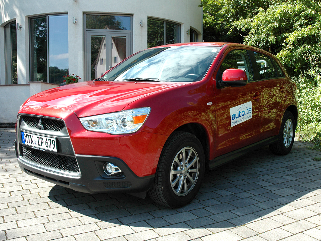 Auto im Alltag: Mitsubishi ASX Diesel