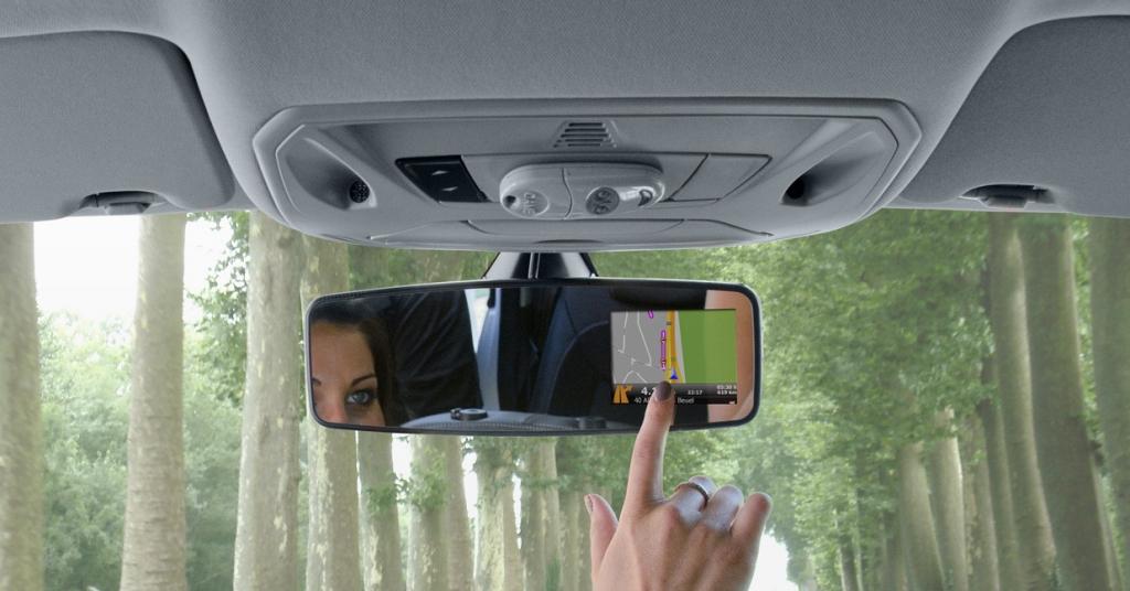 BI-automotive Vision: Navigation im Rückspiegel