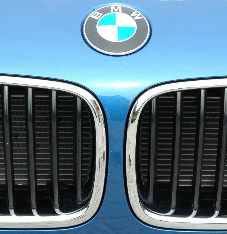 BMW M5: Das Markenlogo sitzt vorn über der Doppelniere.