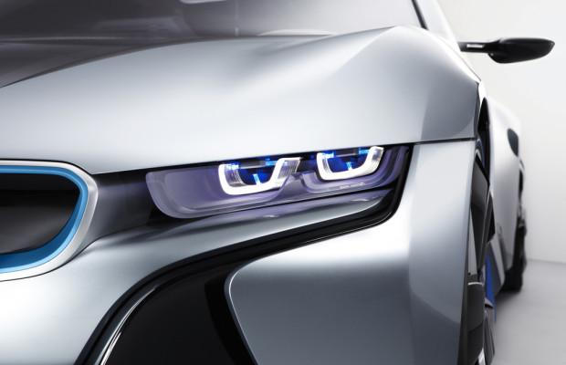 BMW arbeitet am Laserlicht fürs Auto
