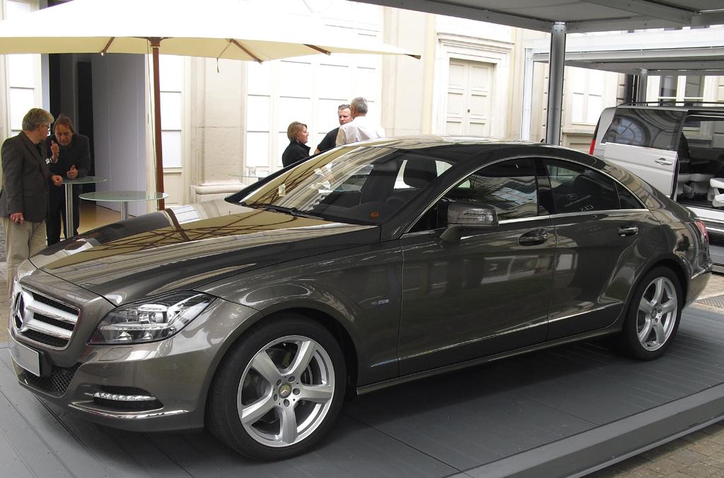 Begeisterungsfaktor Mercedes-Coupé CLS. Fotos: Koch